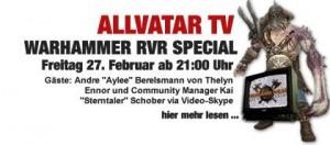 TE Live bei Allvatar TV