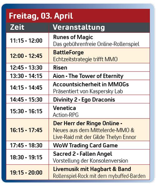 LotRO-TE LIVE am Freitag von 16:15 - 17:45 Uhr