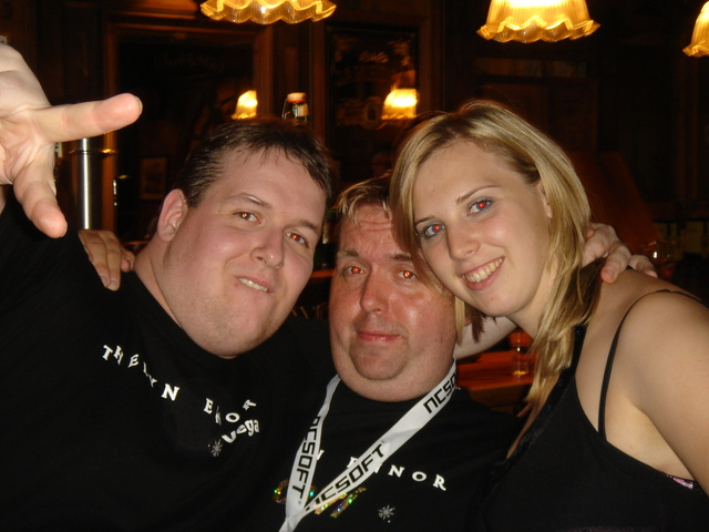 Vega & Xavi with Irish Girl