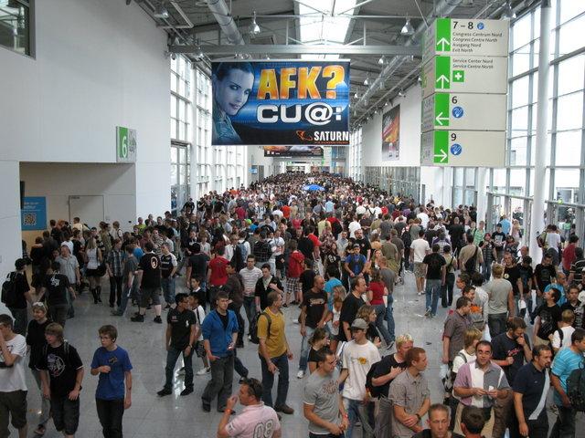 Massen auf der GamesCom 09