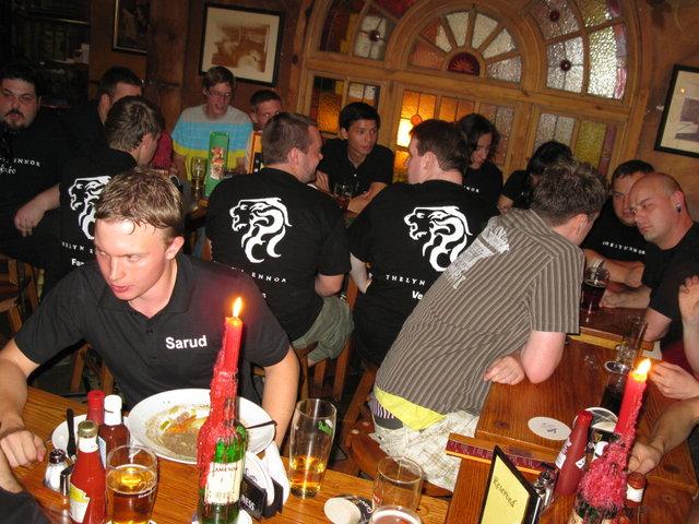 Thelyn Ennor Gildentreffen im Irish Jameson Pub