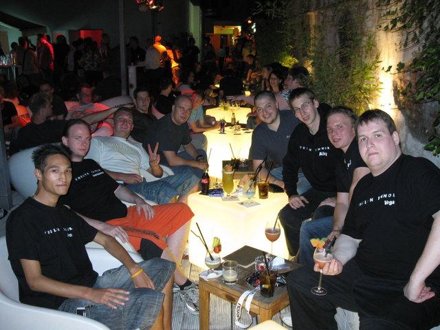 NCSoft-Aion Party im Goldfinger