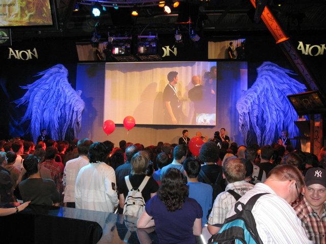 Aion Stand auf der GamesCom 09