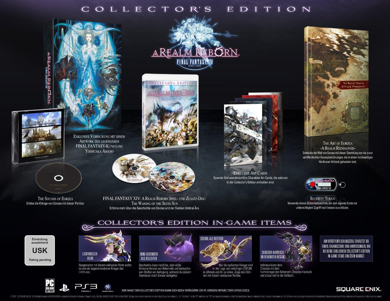 FF14 ARR Collectors Edition