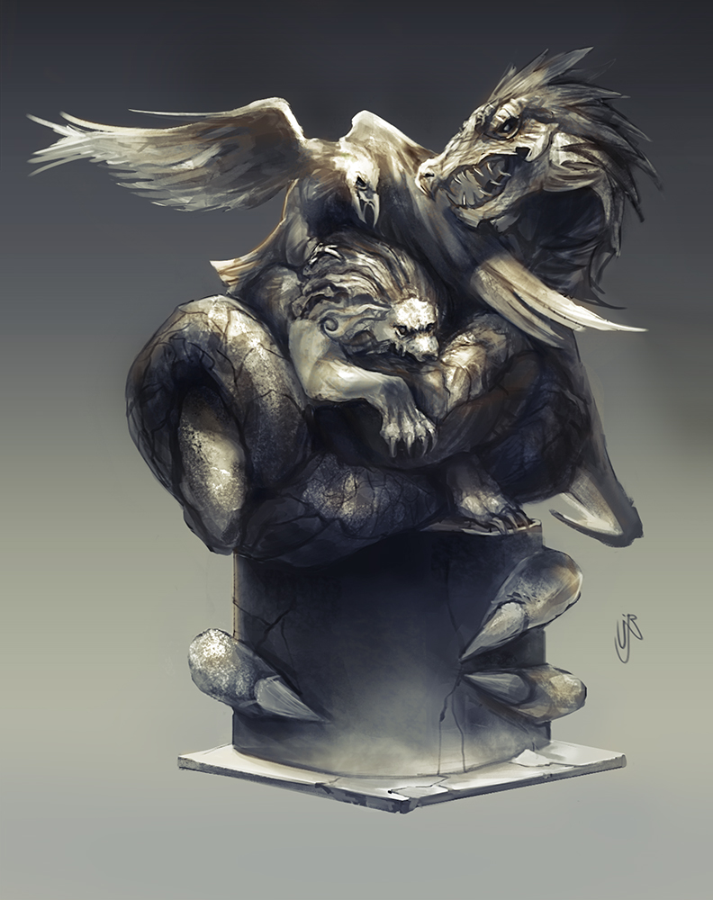 ESO_OUROBOROS_statue
