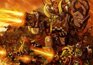 Warhammer 40K Orcs 1